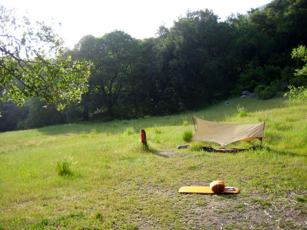 Pico Blanco Camp