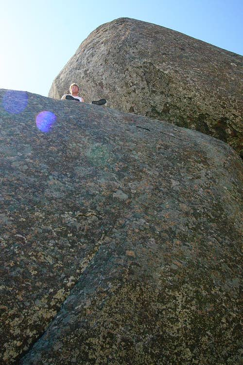 Elk Mountain Summit Boulder