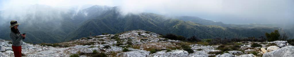 Summit of Pico Blanco Panorama