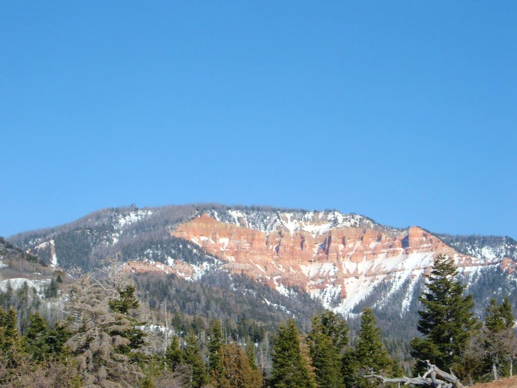 Pink Cliffs and Blowhard Mountain
