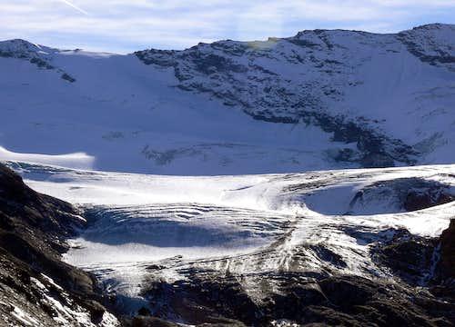 Gliairetta glacier
