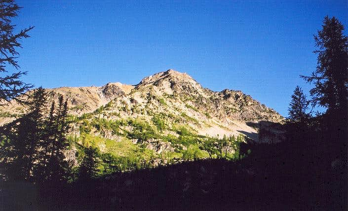 Saska Peak from the SSE (from...
