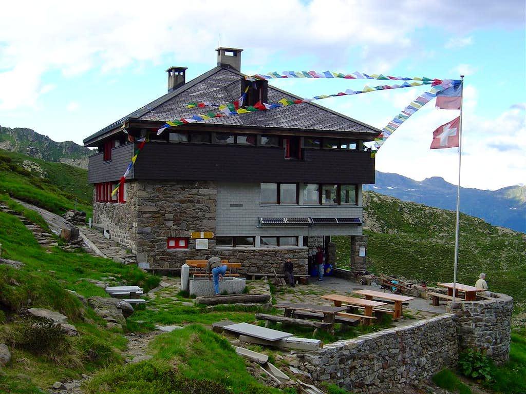 Campo Tencia hut 2140m