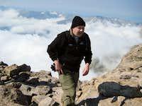 Longs Peak-K Reaches the Summit!-14,259 ft