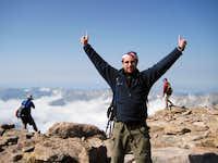 Longs Peak-Den on the Summit-14,259 ft