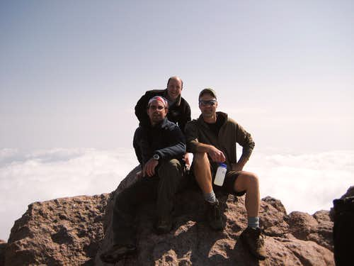 Longs Peak-Summit-Den Dan K-14,259 ft