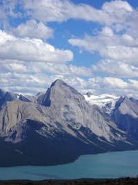 Storm Mountain above Maligne Lake