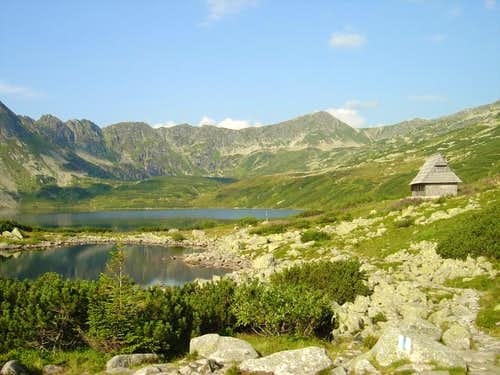 In the Polish Five Lakes' valley