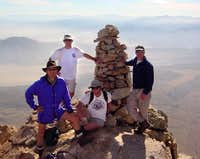 On the summit, Nov. 7, 2003....