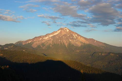 Mt. Jefferson from the summit of Triangulation Peak