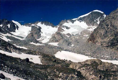 Gannett Peak is on the Right