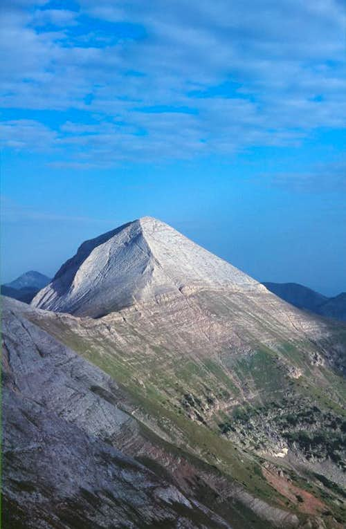 Pirin pyramid - Vihren\'s west face