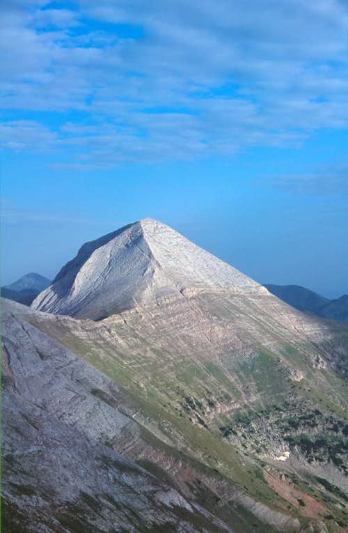 Pirin pyramid - Vihren's west face