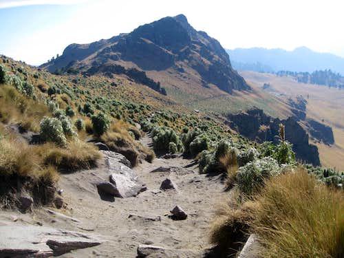 Trail on Ixta