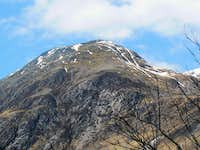 Ben Nevis  South West top Carn Dearg 1020m