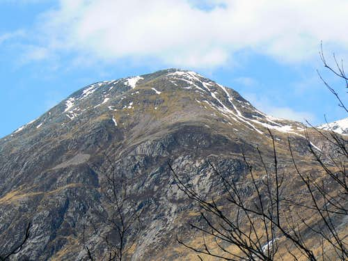 Ben Nevis' South West top Carn Dearg 1020m