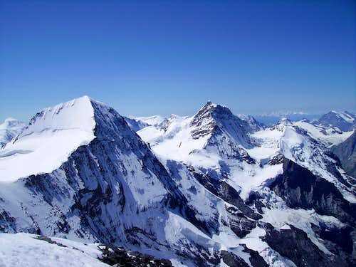 View of Nollen from the Eiger