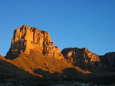 El Cap and Guadalupe Peak