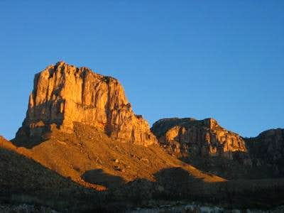 El Cap and Guadalupe Peak