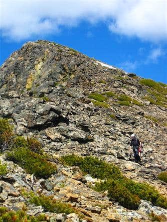 South Ridge traverse