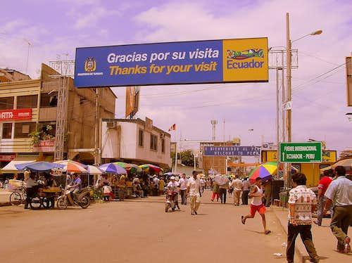 Ecuadorian - Peruvian border