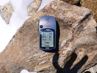 GPS on Elbert Summit