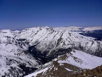 Mount Massive from Mount Elbert summit