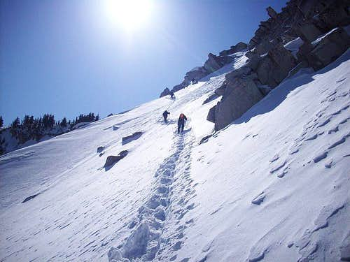 Top of Big Willow Headwall