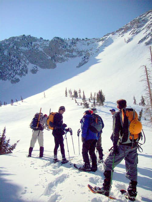 Six of the Lone Peak summit crew