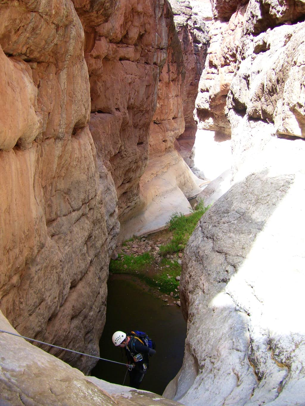Beginning of the Silver Grotto Canyon