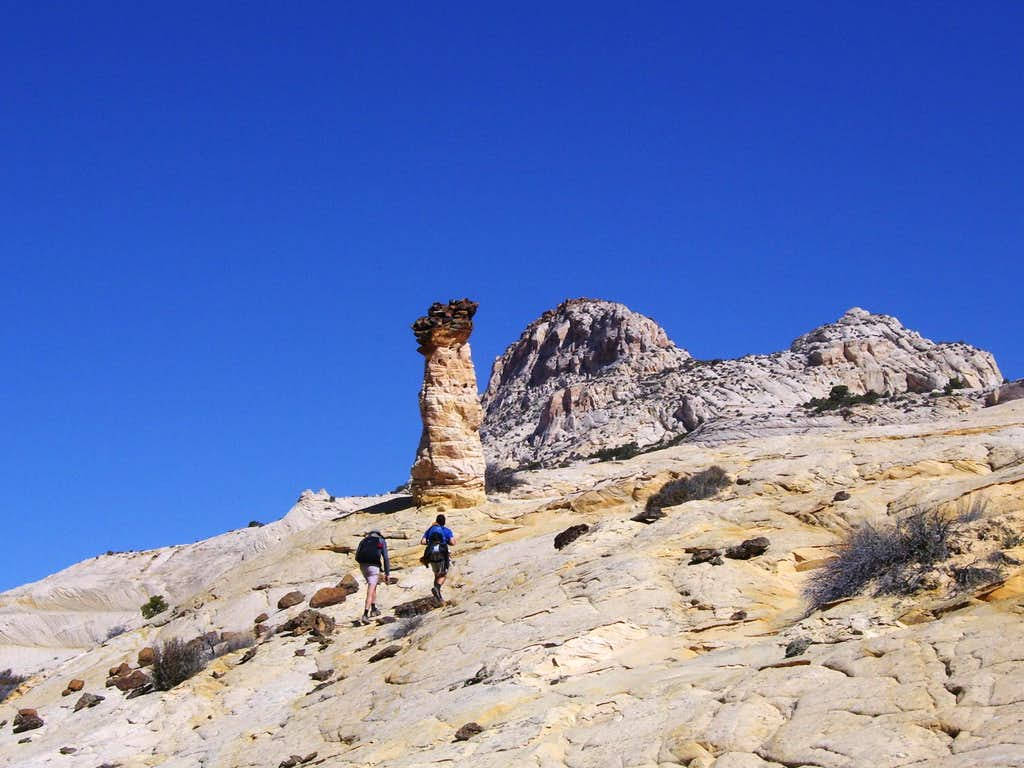 Route to Stone Donkey Canyon