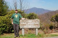 First-timer\'s attempt at Cold Mountain and some highpointing