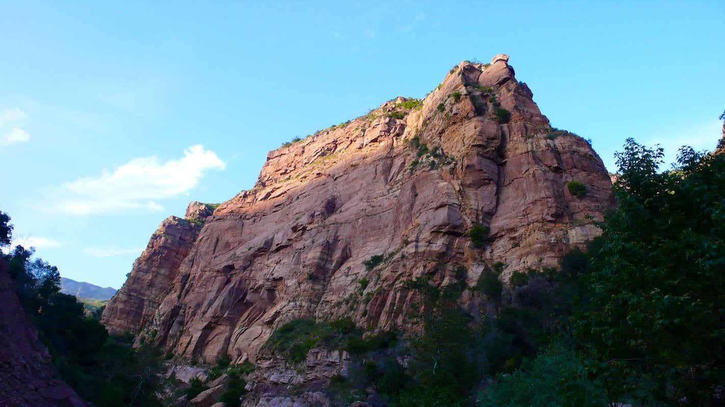 Big Rock Cliff : Photos, Diagrams & Topos : SummitPost