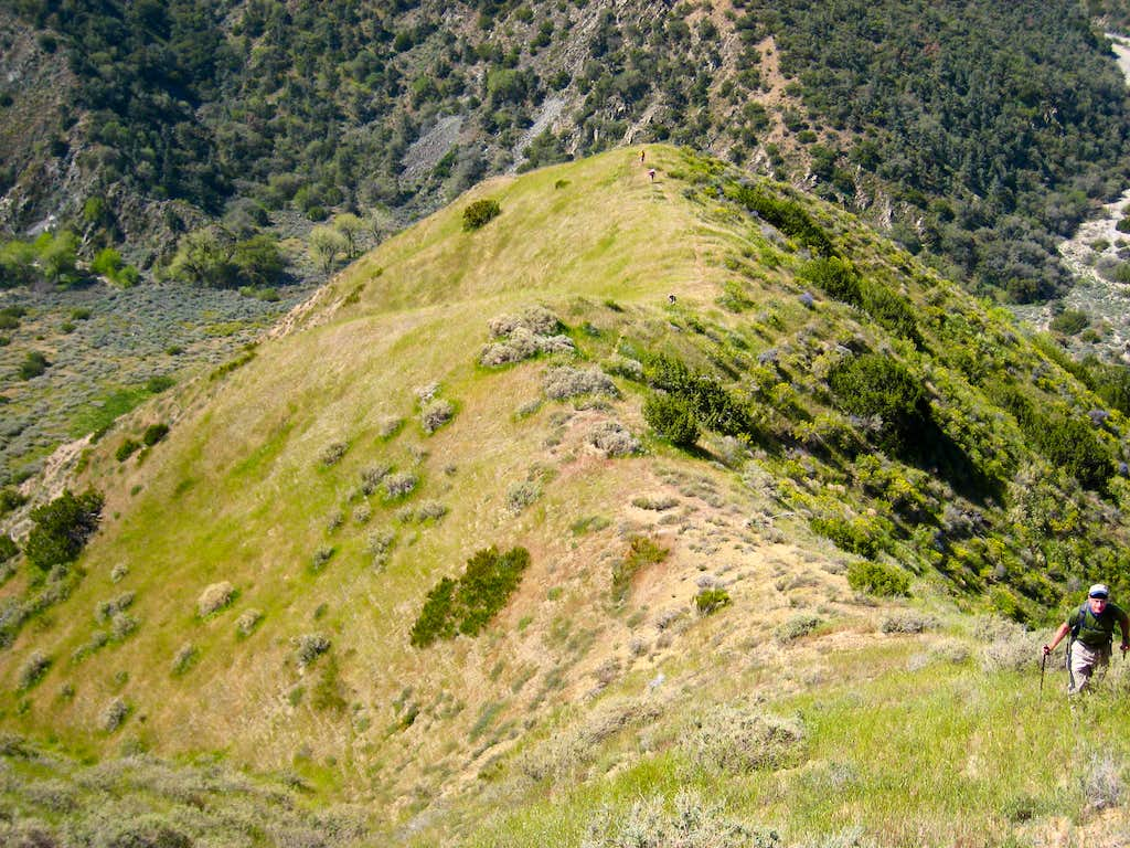West Ridge of  Eagle Rest Peak