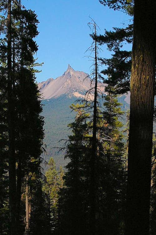 Mt. Thielsen from Mt. Bailey trail