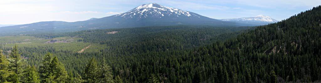 Burney Mountain Pano