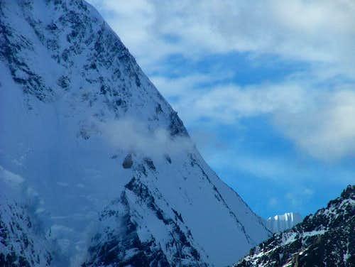 K2 (8611-M /28250-F), ridge, Karakoram, Pakistan