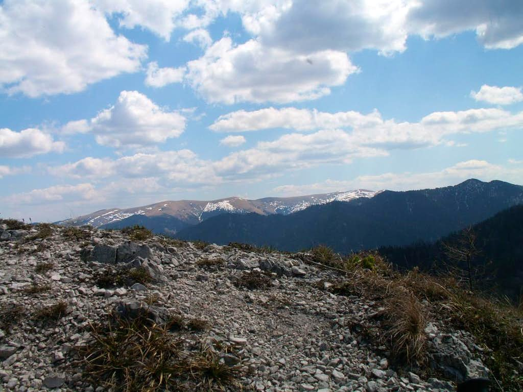 The main ridge of Velká Fatra