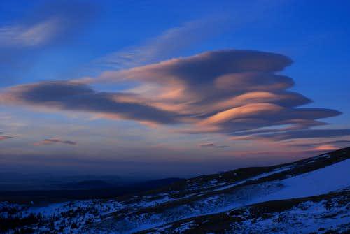 Mighty Mt. Cameron: Skiing the Non-14er