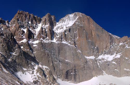 Long's Peak and the Diamond