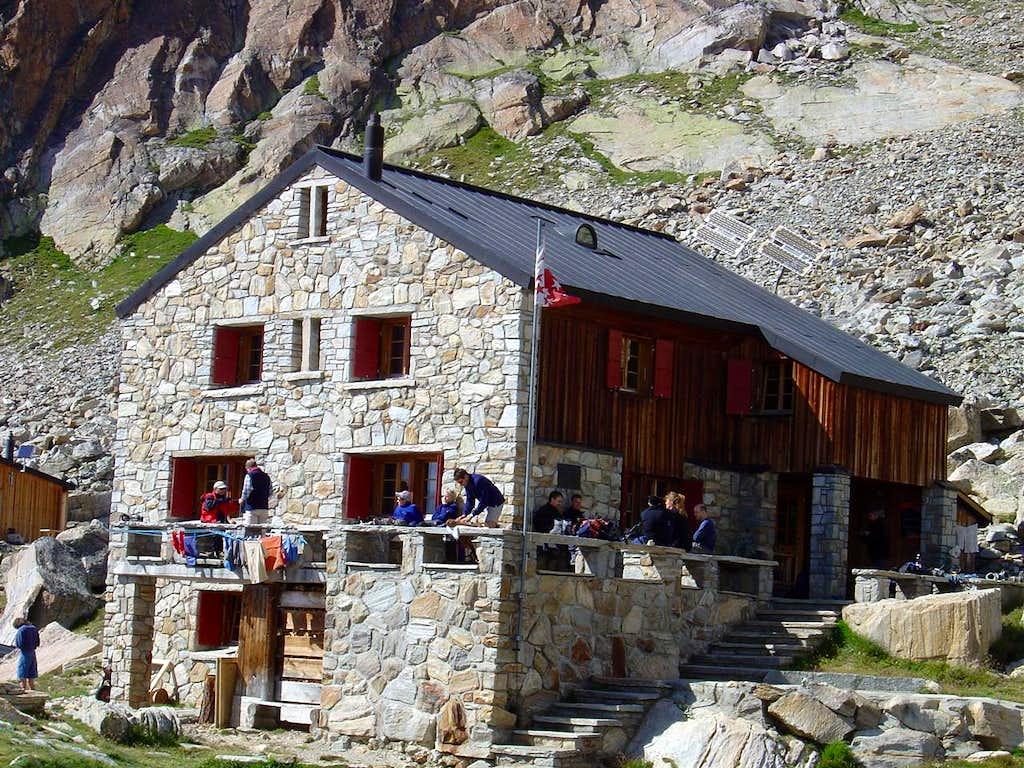 Almageller Hut  2894m