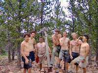 6-16-RM2, Summit of Big Red, Philmont.
