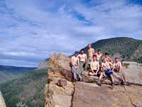 6-16-RM2 at the Notch, Philmont.