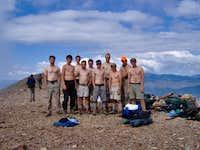 6-16-RM2, Summit of Baldy Mountain, Philmont.