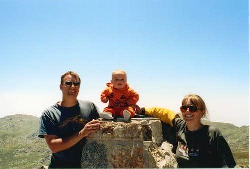 Kessler's Climbing Album-Age 0 to 2