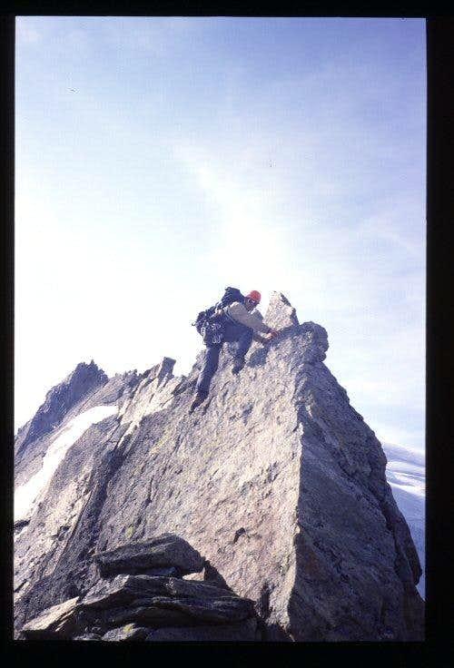 Weissmies N-ridge