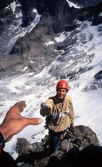 On the Les Bans NE-ridge