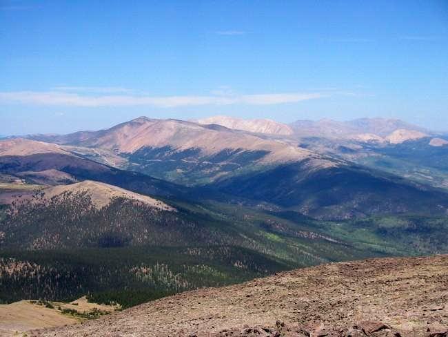 Horseshoe Mountain as seen...