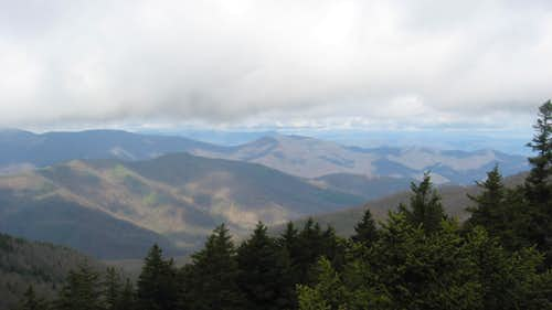 View from Shining Rock