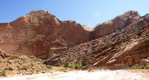 southern end of Lower Muley Twist Canyon